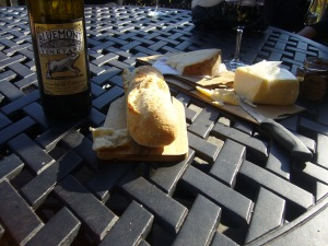 Bluemont Vineyard Bread and Cheese
